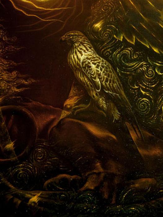 Сюрреалистическая иконопись Олега Королёва 45 (525x700, 379Kb)