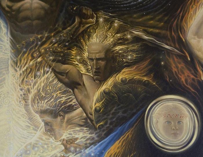 Сюрреалистическая иконопись Олега Королёва 67 (700x542, 123Kb)