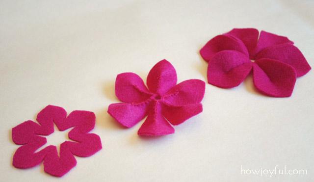 Как сделать цветы из драпа фото 711