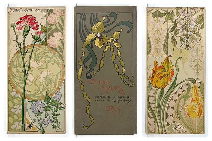 Об открытках в стиле модерн, спокойной