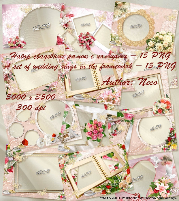 1335018965_set_wedding_frame_by_Neco (621x700, 413Kb)