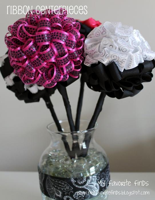 Поделка, изделие ШитьС': Розы из атласных лент Ленты.