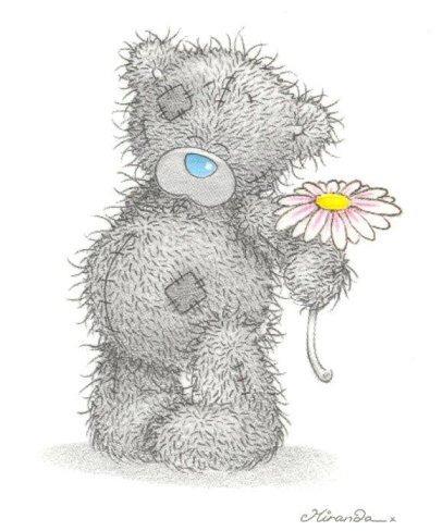 на день мишка тедди рождения рисунок