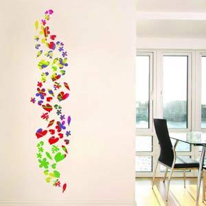 Декор стен рисунок своими руками 124