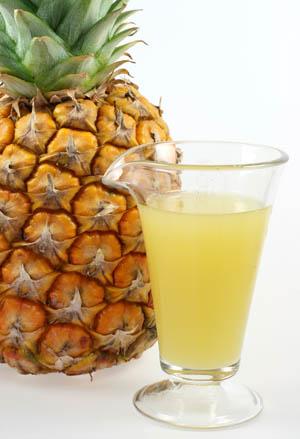 Ананасовый сок.