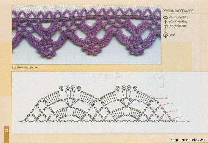 Винтажное вязание крючком. Много винтажных идей со схемами barradinho_11 (700x482, 162Kb)