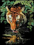 Превью Dimensions 06961 Tiger Reflection (368x484, 36Kb)