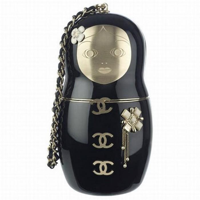 Сумка-матрешка a la Chanel.