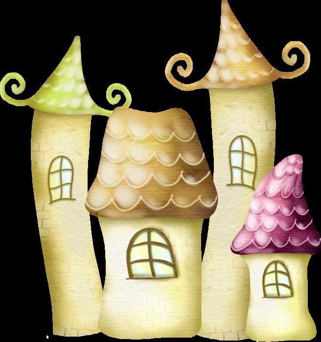 Сказочные домики картинки рисунки, анимацией