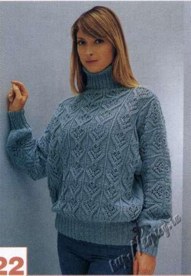 азбука вязания вязание свитеров для женщин