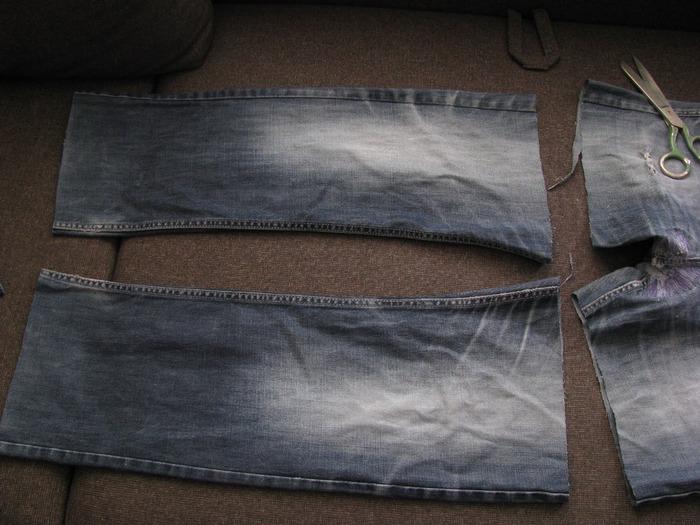 Popular posts.  Хозяйственная сумка из джинсов - Ярмарка Мастеров...