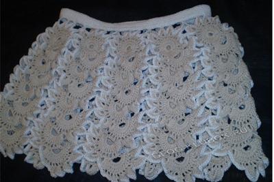 Вязание крючком юбочка для девочки схемы