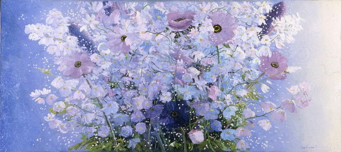 Ванильные фотографии цветов от Sozaijiten 34 (700x313, 88Kb)