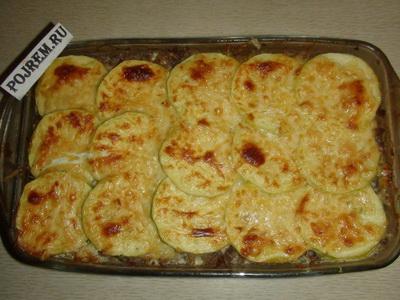 кабачки готовим в духовке рецепты с фото
