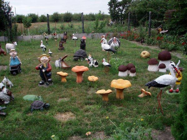 Фигурки в сад своими руками - Поделки