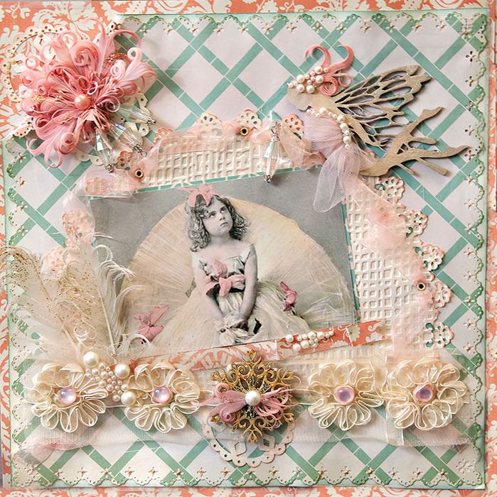 Jan 2012 Vintage Fairy (699x700, 278Kb)