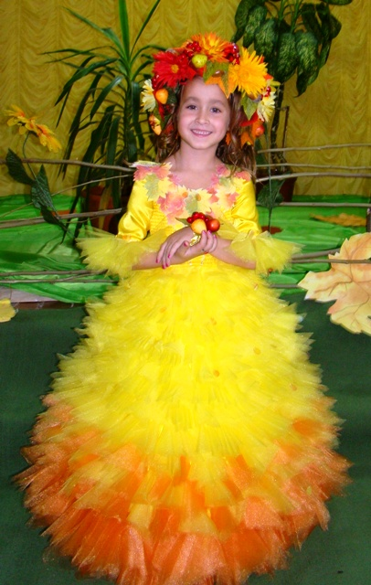 Праздник осени костюмы для девочки своими руками 264