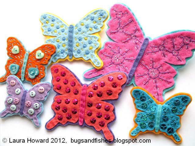 felt butterfly brooches 2 (640x480, 87Kb)