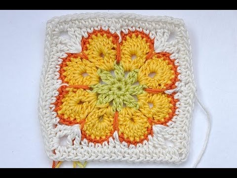 How_to_Crochet_Granny_Square_Somalia_African_Flower_Paperweight (480x360, 40Kb)