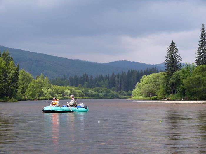 Рыбалка красноярский край река мана