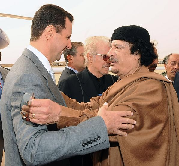 Assad-with-Gaddafi (596x551, 75Kb)