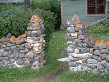 Каменный забор своими руками фото 732