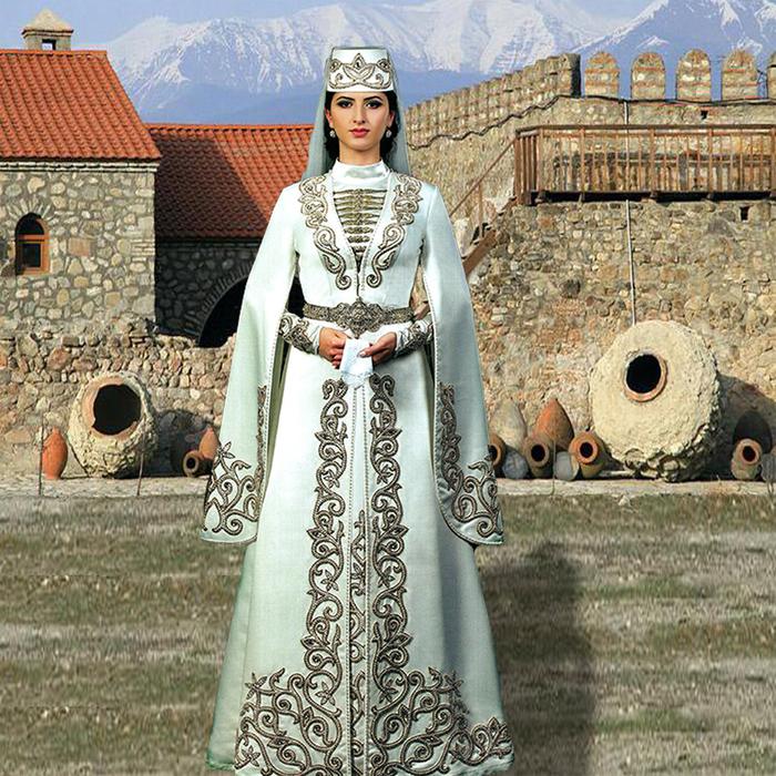 Шаблон женский - Грузинский национальный костюм. Обсуждение на ... e2134946492