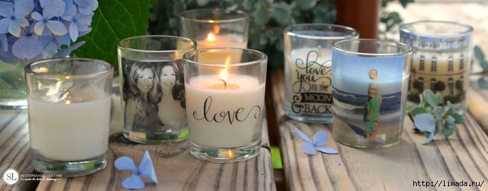 DIY Custom Photo Candle Holders  diy packing tape transfers michaelsmakers_zpshprbmrhc (700x274, 152Kb)