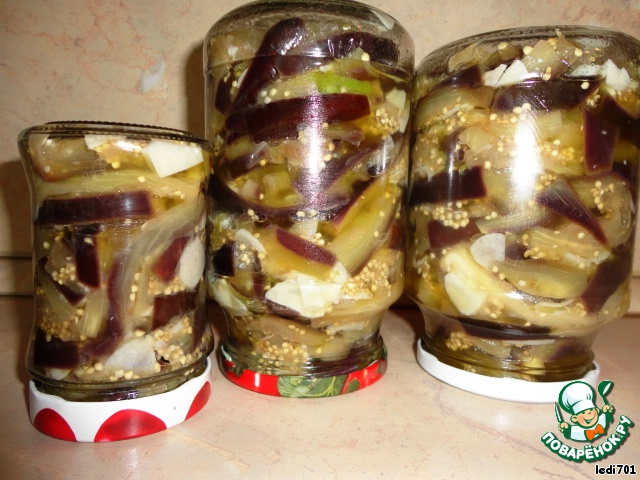 баклажаны-грибочки на зиму рецепты