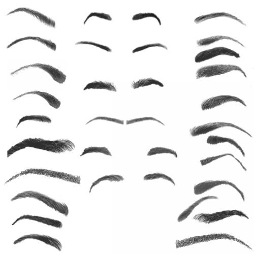 28_Eyebrow_Photoshop_Brushes_by_photoshopweb (500x500, 54Kb)