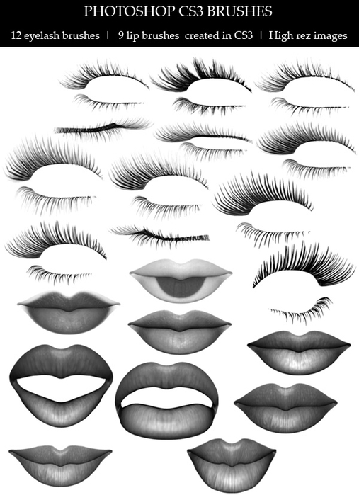 Lips_and_Lashes_brushes_by_lilnymph (507x700, 154Kb)