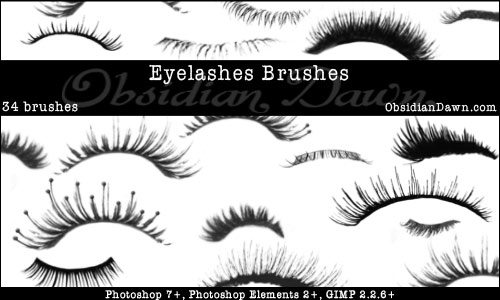Eyelashes_Photoshop_Brushes_by_redheadstock (500x300, 78Kb)