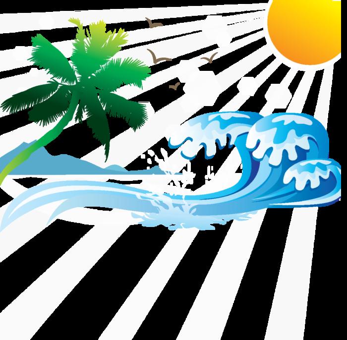 Море картинки в векторе