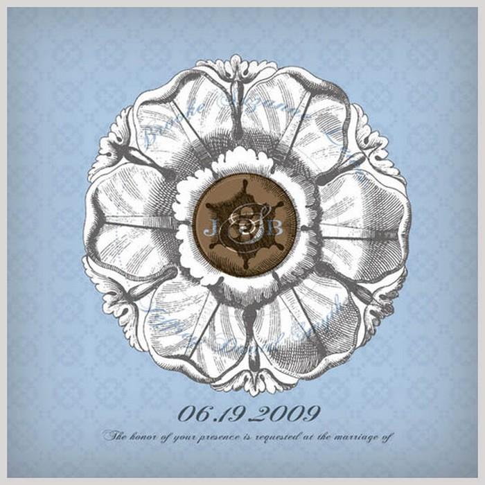 Дизайнерские пригласительные открытки на свадьбу 42 (700x700, 135Kb)