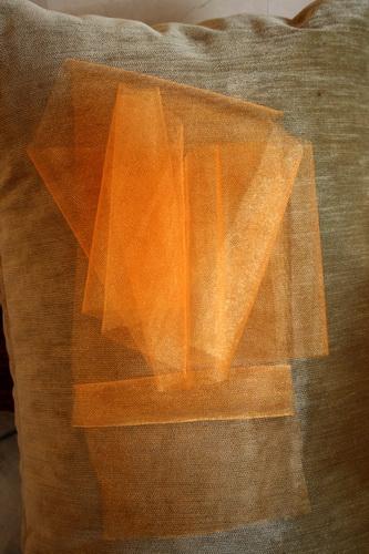 Платье-туника из бабушкиных квадратов Связаные