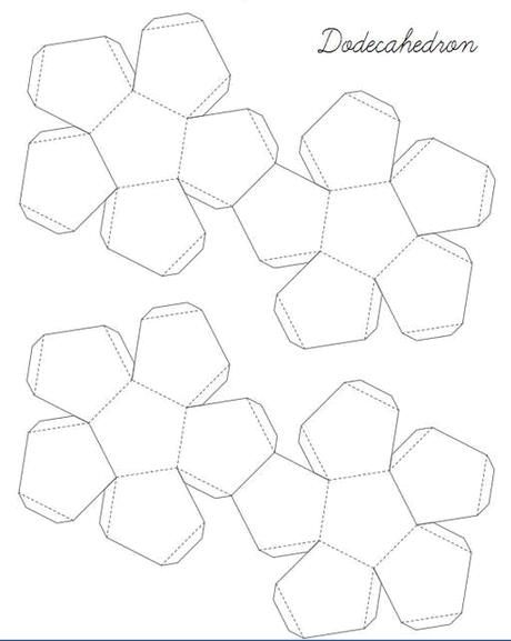Геометрические фигуры оригами схемы.