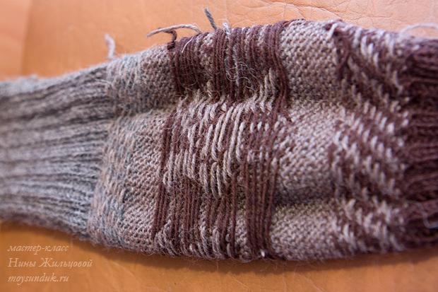 вязание детских ажурных носочков