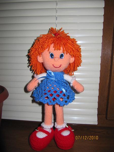 куклы спицами и крючком схемы