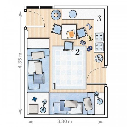 Детская комната для двоих детей. Обсуждение на