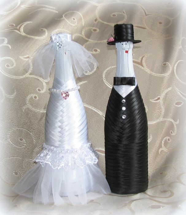 Фото на шампанское как сделать свадьба 82