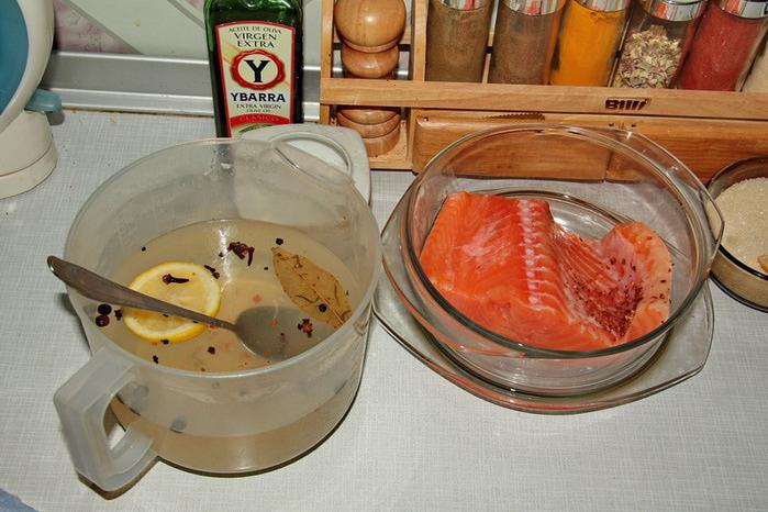 Красная рыба очень востребована и занимает почетное первое место.