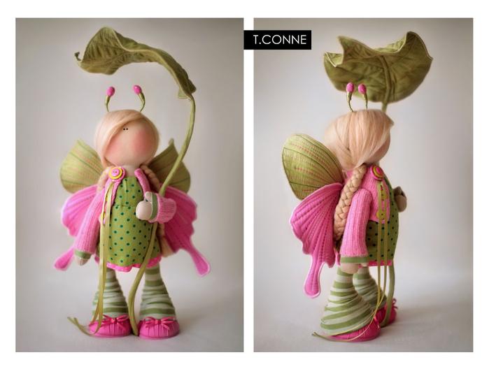 кукла снежная девочка выкройка по мотивам татьяны коннэ.