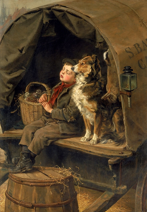 Last in Market, by Ralph Hedley (486x700, 287Kb)