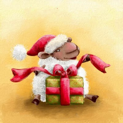 christmas sheep small (400x400, 76Kb)