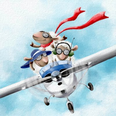 sheep on the airplane (400x400, 80Kb)