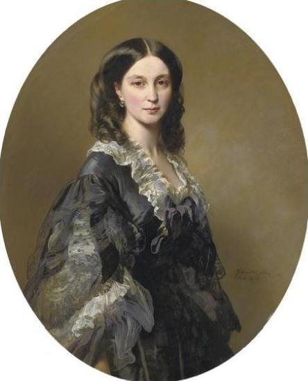 Портрет княгини Елизаветы Александровны Чернышева, 1858 (444x548, 24Kb)