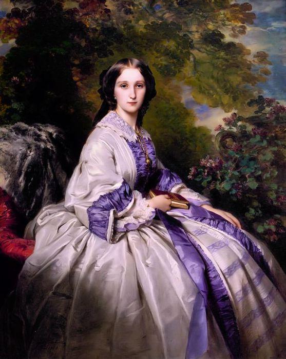 Графиня Александра Николаевича Ламсдорф, 1859 (557x700, 70Kb)