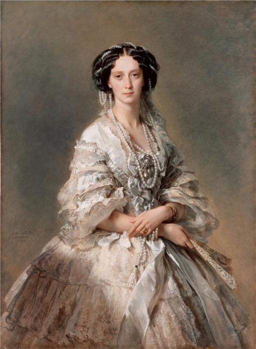 Портрет императрицы Марии Александровны, 1857 (514x700, 46Kb)