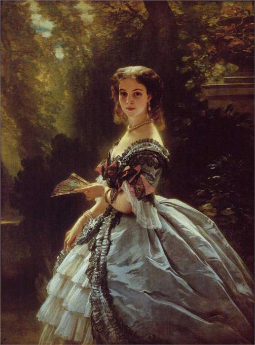 Принцесса Елизавета Esperovna Belosselsky, 1859 (517x700, 55Kb)