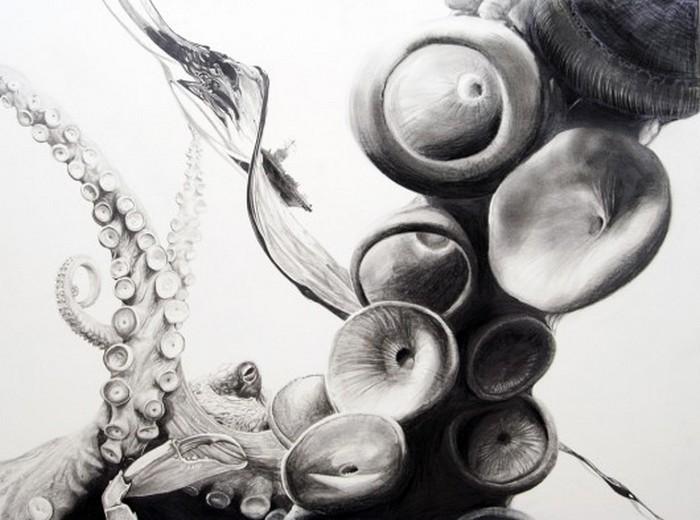 Черно белые рисунки от Martin Kalanda 1 (700x520, 77Kb)